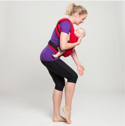 Fitness mit Babytrage