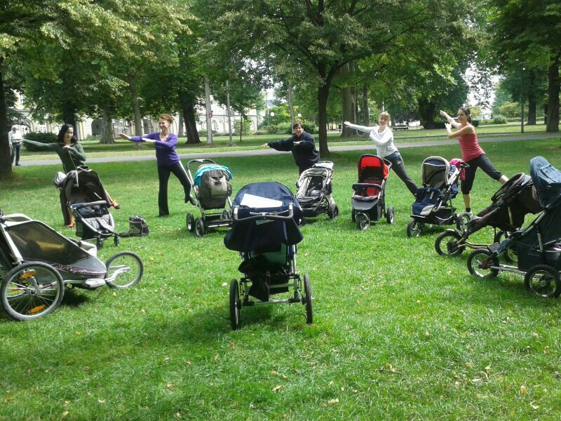 Fit mit Baby & Buggy Seminar