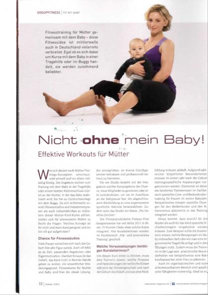 trainer nicht ohne mein baby akademie wiechers. Black Bedroom Furniture Sets. Home Design Ideas